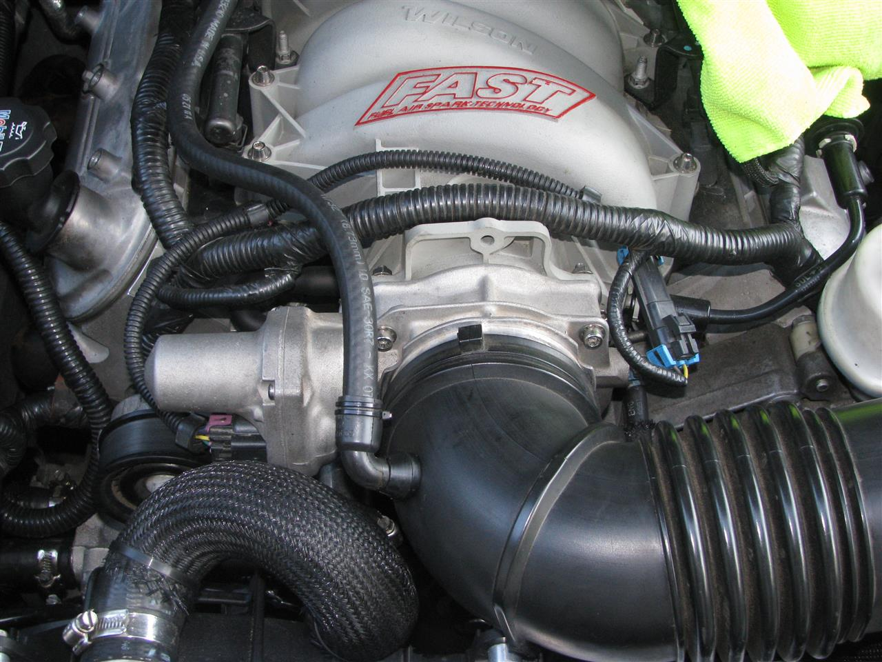 Intake Breather Hose on 06 Cts Engine