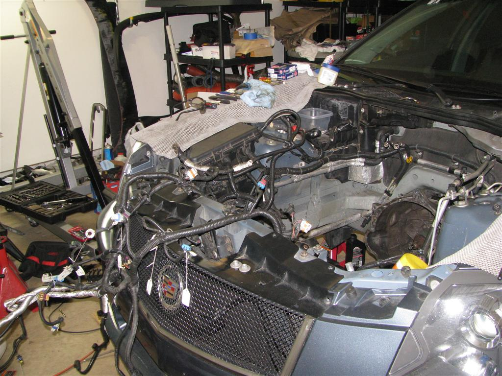 removing main engine harness rh cadillacforums com