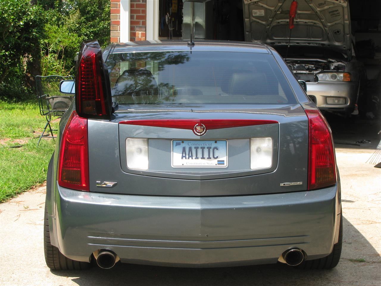 Led taillights on stealth grey 05 archive cadillac forums cadillac owners forum