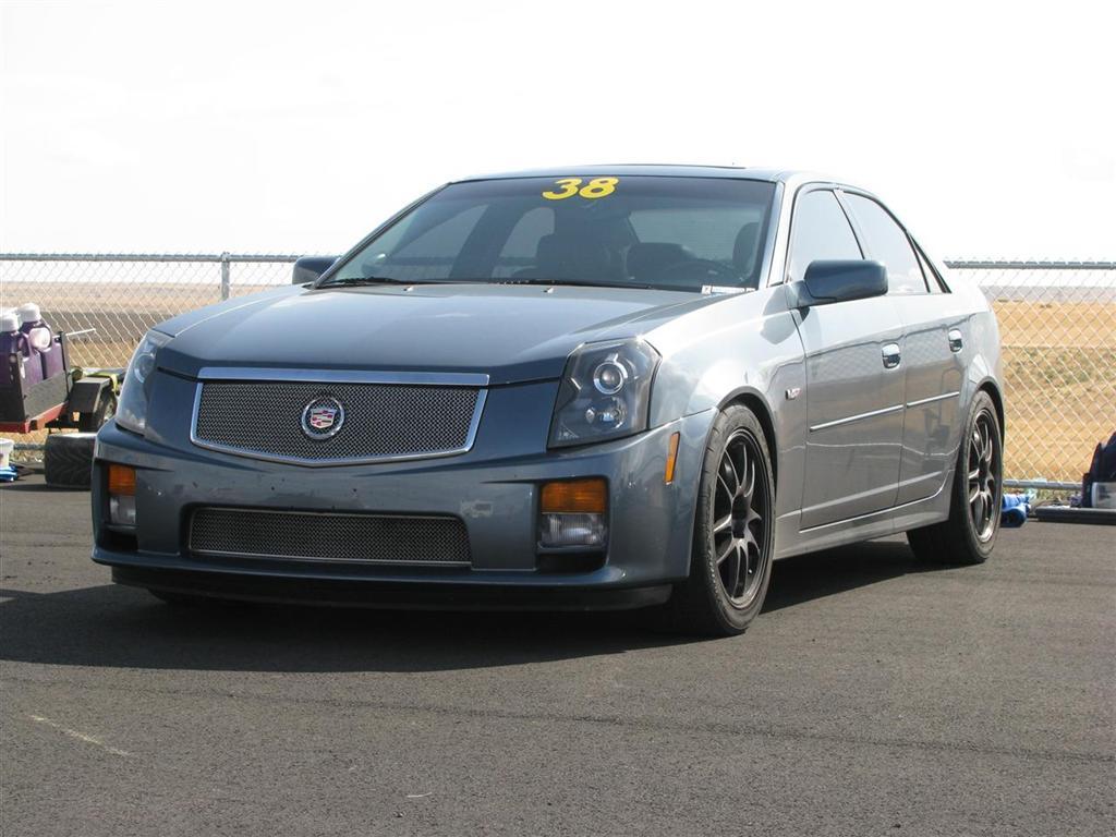 Stealth Grey Cadillac Cts V