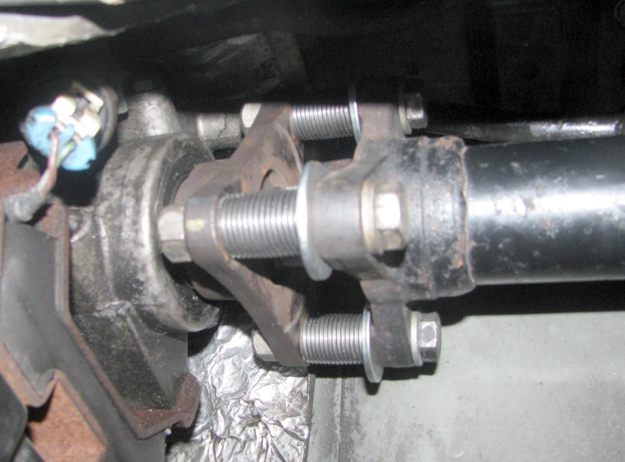 2004 Cadillac CTS Driveshaft Bearing