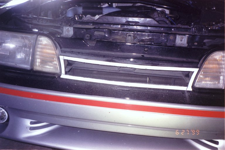 How To Install A 1993 Cobra Grill Insert Ford Mustang