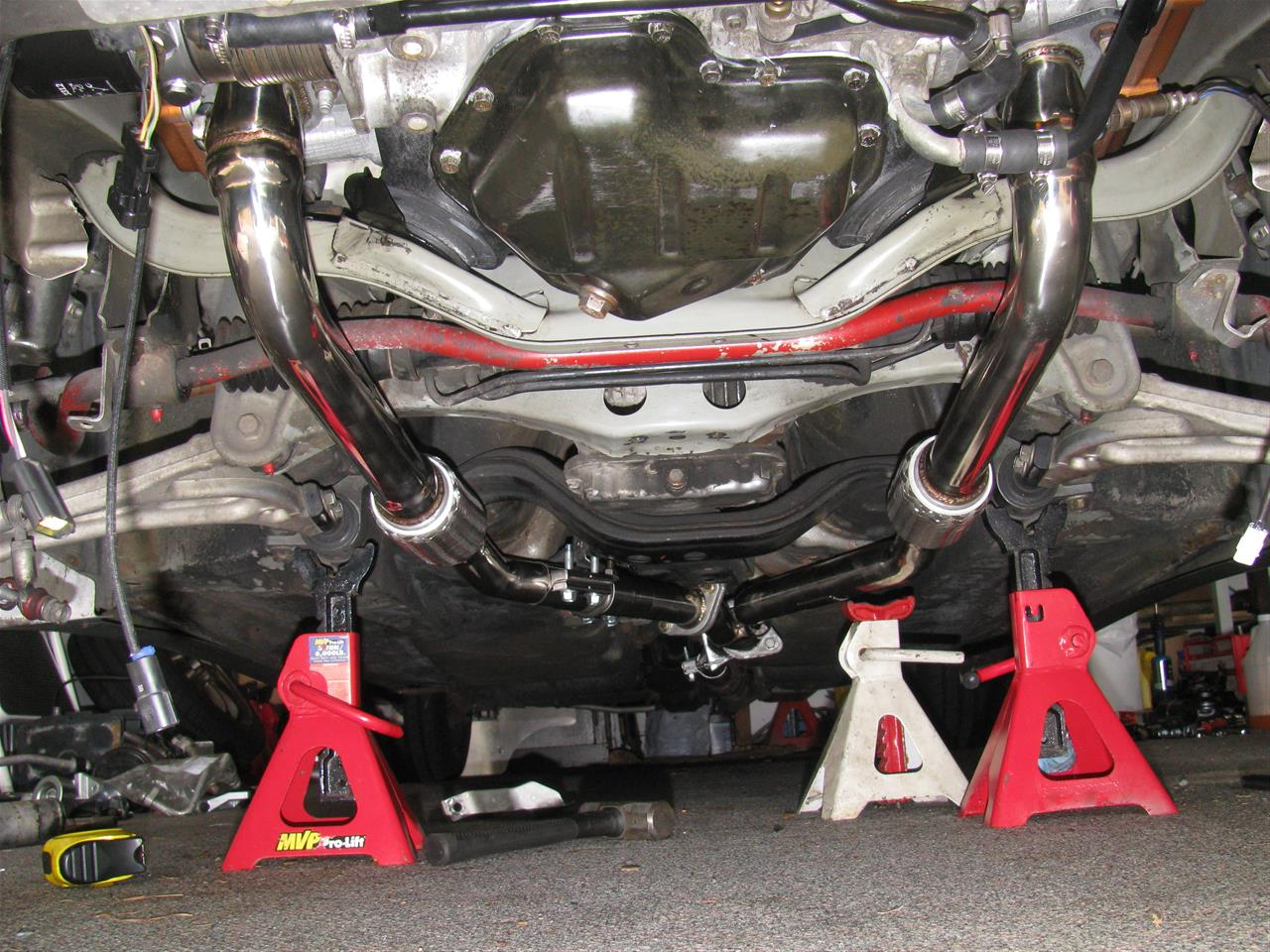 Subaru H6 Exhaust