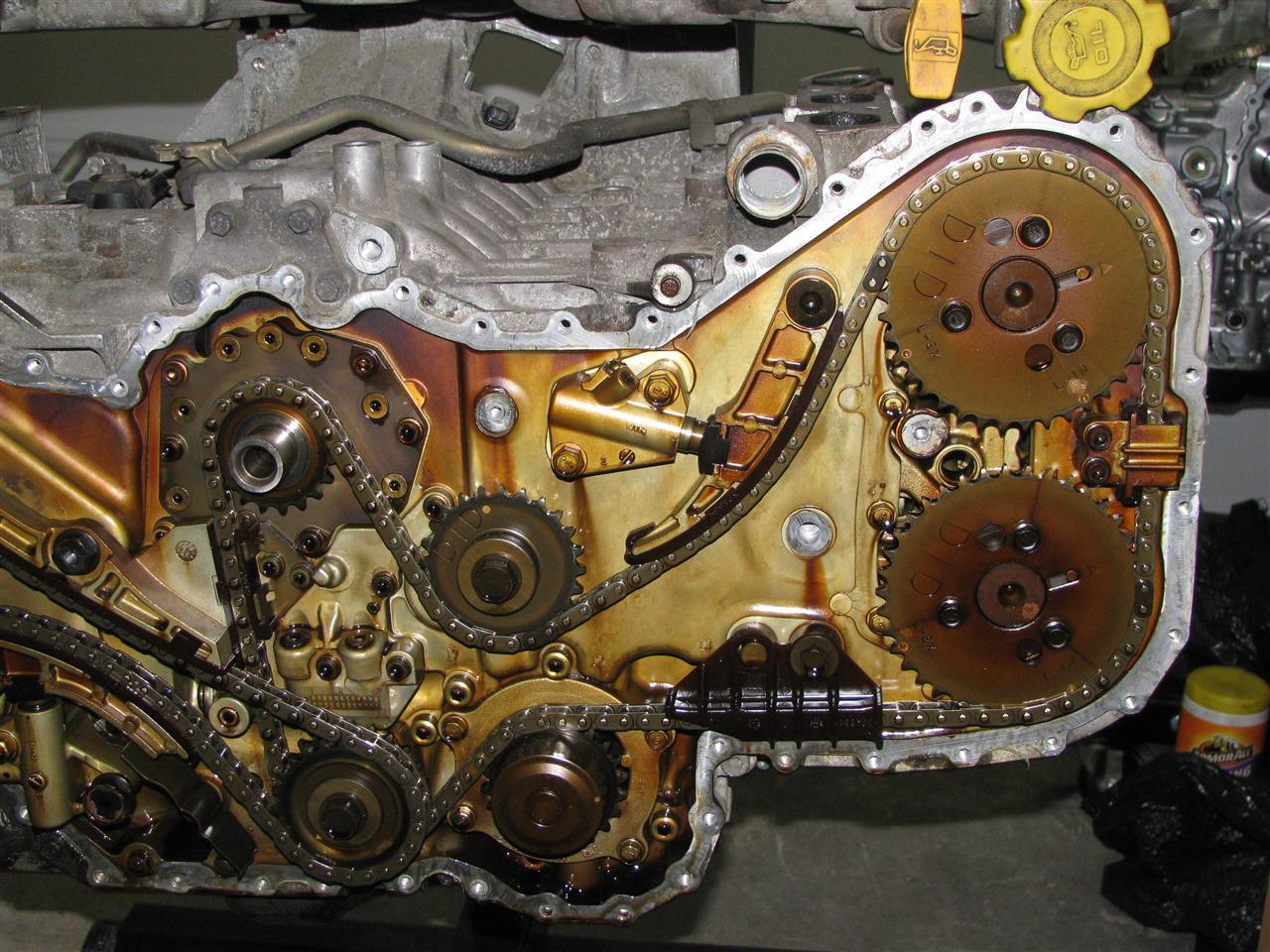 Ez Timing Chain on 1996 Subaru B9 Tribeca