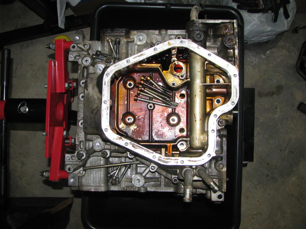 How To Check Transmission Oil >> Upper oil pan removal subaru outback h6 - Subaru Outback - Subaru Outback Forums