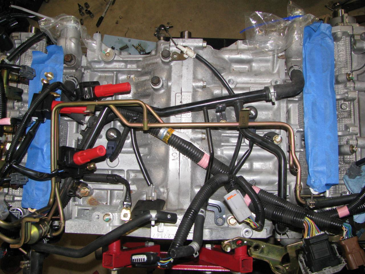 teardown harness routing1 the h6 impreza resource thread page 55 nasioc subaru engine wiring harness at n-0.co